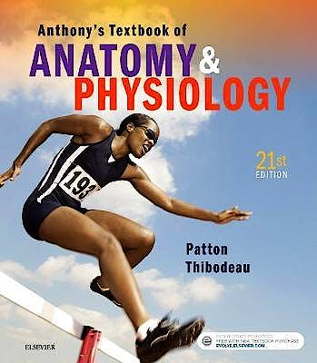 Portada del libro 9780323528801 Anthony's Textbook of Anatomy and Physiology + Online Access