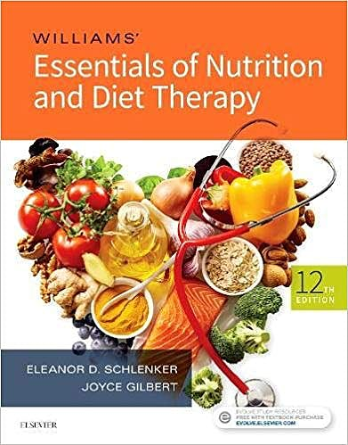 Portada del libro 9780323529716 Williams' Essentials of Nutrition and Diet Therapy