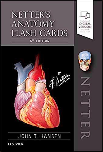 Portada del libro 9780323530507 Netter's Anatomy Flash Cards