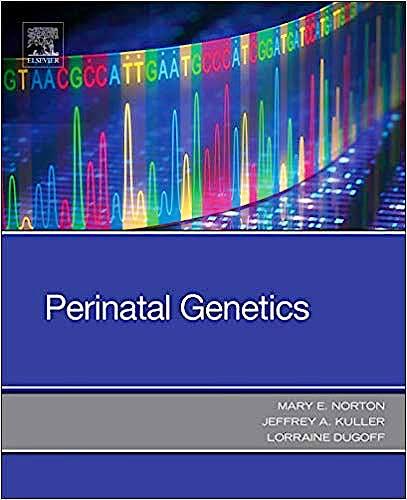 Portada del libro 9780323530941 Perinatal Genetics