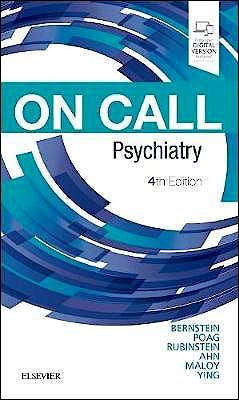 Portada del libro 9780323531092 On Call Psychiatry (Print and Online)