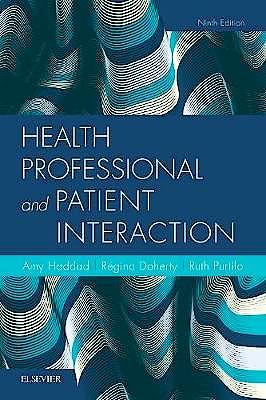 Portada del libro 9780323533621 Health Professional and Patient Interaction