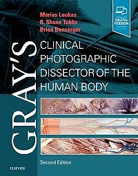 Portada del libro 9780323544177 Gray's Clinical Photographic Dissector of the Human Body
