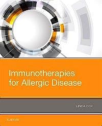 Portada del libro 9780323544276 Immunotherapies for Allergic Disease