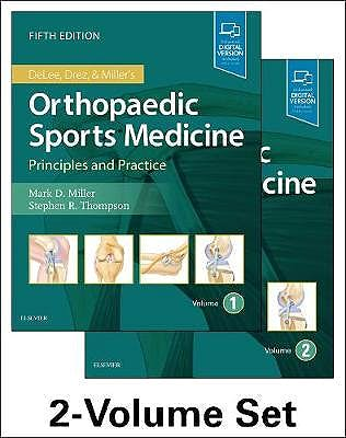 Portada del libro 9780323544733 DeLee, Drez and Miller's Orthopaedic Sports Medicine, 2 Vols. (Print + Online)