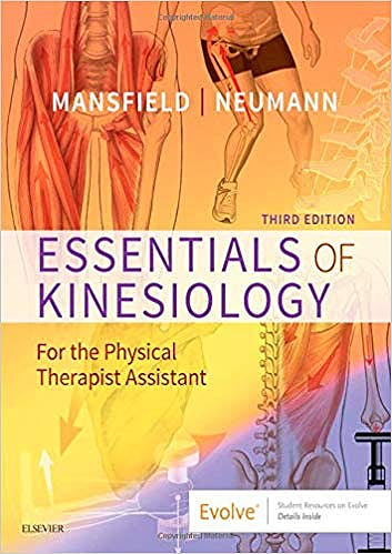 Portada del libro 9780323544986 Essentials of Kinesiology for the Physical Therapist Assistant