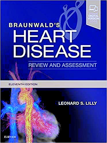 Portada del libro 9780323546348 Braunwald's Heart Disease Review and Assessment