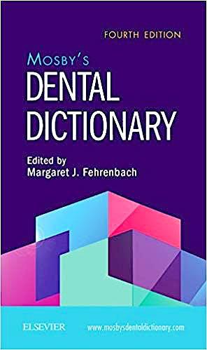 Portada del libro 9780323546355 Mosby's Dental Dictionary
