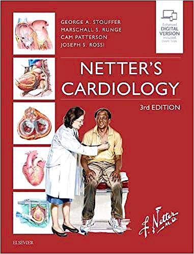 Portada del libro 9780323547260 Netter's Cardiology (Print and Online)