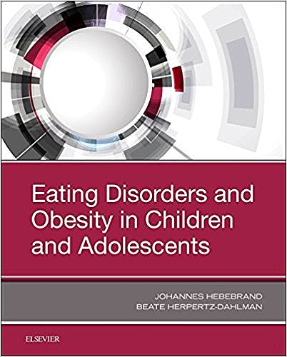 Portada del libro 9780323548526 Eating Disorders and Obesity in Children and Adolescents