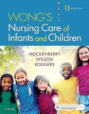 Portada del libro 9780323549394 Wong's Nursing Care of Infants and Children