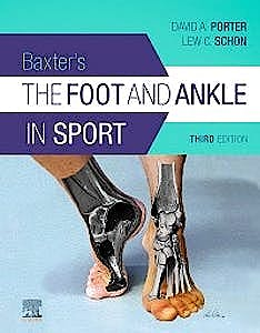 Portada del libro 9780323549424 Baxter's The Foot and Ankle in Sport (Print + Online)
