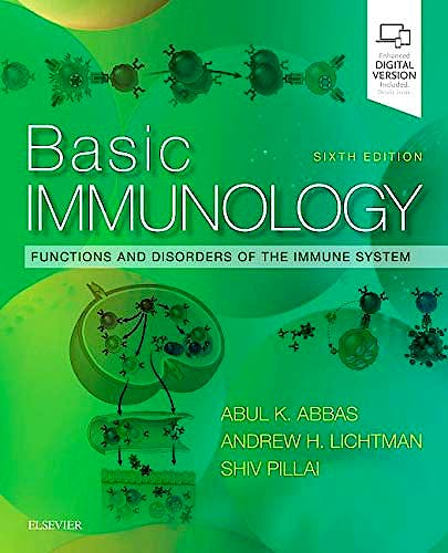 Portada del libro 9780323549431 Basic Immunology. Functions and Disorders of the Immune System