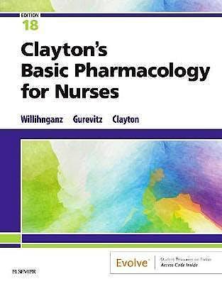 Portada del libro 9780323550611 Clayton's Basic Pharmacology for Nurses