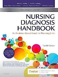 Portada del libro 9780323551120 Nursing Diagnosis Handbook. An Evidence-Based Guide to Planning Care