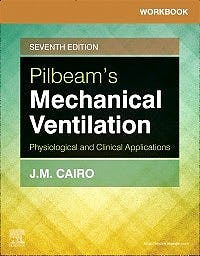Portada del libro 9780323551267 Workbook for Pilbeam's Mechanical Ventilation. Physiological and Clinical Applications