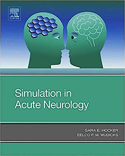 Portada del libro 9780323551342 Simulation in Acute Neurology