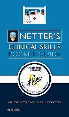 Portada del libro 9780323551649 Netter's Clinical Skills. Pocket Guide