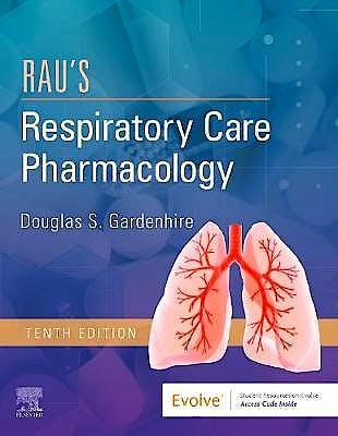 Portada del libro 9780323553643 Rau's Respiratory Care Pharmacology