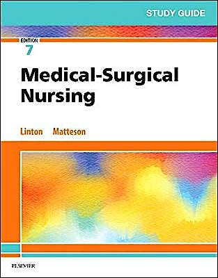 Portada del libro 9780323554589 Study Guide for Medical-Surgical Nursing
