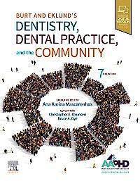 Portada del libro 9780323554848 Burt and Eklund's Dentistry, Dental Practice, and the Community