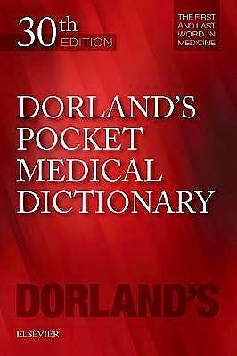 Portada del libro 9780323554930 Dorland's Pocket Medical Dictionary