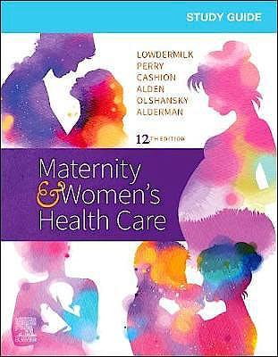 Portada del libro 9780323555265 Study Guide for Maternity and Women's Health Care