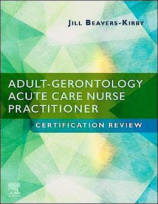 Portada del libro 9780323556064 Adult-Gerontology Acute Care Nurse Practitioner Certification Review