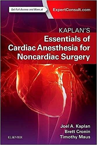 Portada del libro 9780323567169 Kaplan's Essentials of Cardiac Anesthesia for Noncardiac Surgery. A Companion to Kaplan's Cardiac Anethesia (Print and Online)