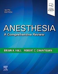 Portada del libro 9780323567190 Anesthesia. A Comprehensive Review
