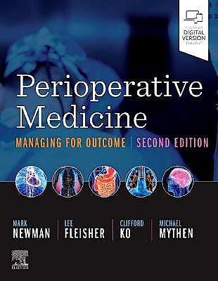 Portada del libro 9780323567244 Perioperative Medicine. Managing for Outcome