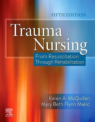 Portada del libro 9780323567855 Trauma Nursing. From Resuscitation Through Rehabilitation