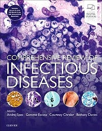 Portada del libro 9780323568661 Comprehensive Review of Infectious Diseases
