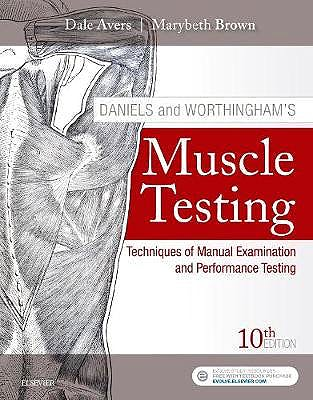 Portada del libro 9780323569149 Daniels and Worthingham's Muscle Testing. Techniques of Manual Examination and Performance Testing + Online Access