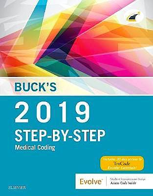 Portada del libro 9780323582193 Buck's Step-by-Step Medical Coding 2019