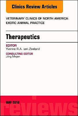 Portada del libro 9780323583800 Therapeutics (An Issue of Veterinary Clinics. Exotic Animal Practice)