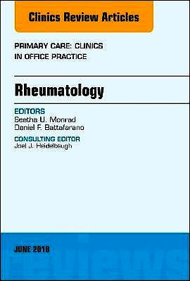 Portada del libro 9780323584159 Rheumatology (An Issue of Primary Care. Clinics in Office Practice)