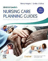 Portada del libro 9780323595421 Ulrich and Canale's Nursing Care Planning Guides. Prioritization, Delegation, and Clinical Reasoning
