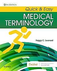 Portada del libro 9780323595995 Quick and Easy Medical Terminology