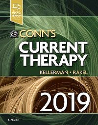 Portada del libro 9780323596480 Conn's Current Therapy 2019