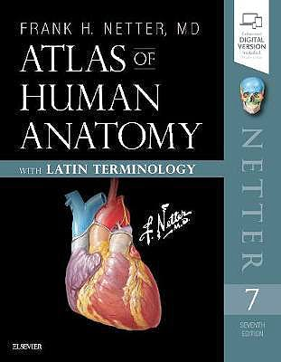 Portada del libro 9780323596770 Atlas of Human Anatomy with Latin Terminology (English and Latin Edition) (Print and Online)