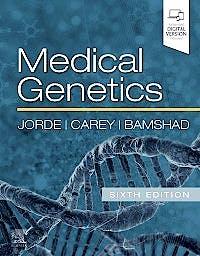 Portada del libro 9780323597371 Medical Genetics