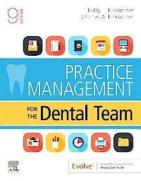 Portada del libro 9780323597654 Practice Management for the Dental Team