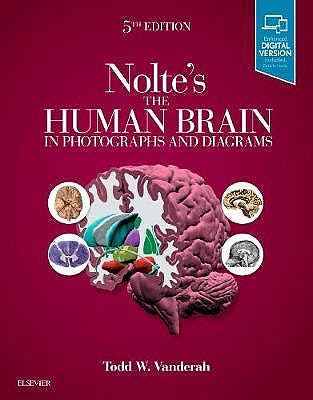 Portada del libro 9780323598163 Nolte's The Human Brain in Photographs and Diagrams (Print + Online)