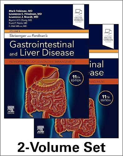 Portada del libro 9780323609623 Sleisenger and Fordtran's Gastrointestinal and Liver Disease. Pathophysiology, Diagnosis, Management, 2 Vols.