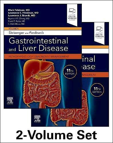 Portada del libro 9780323609623 Sleisenger and Fordtran's Gastrointestinal and Liver Disease. Pathophysiology, Diagnosis, Management, 2 Vols.
