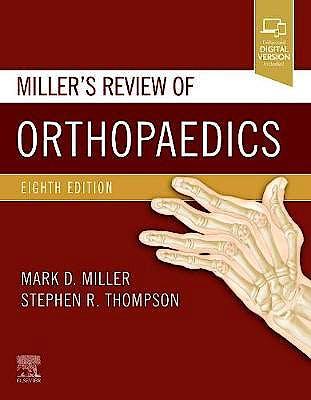 Portada del libro 9780323609784 Miller's Review of Orthopaedics (Print + Online)