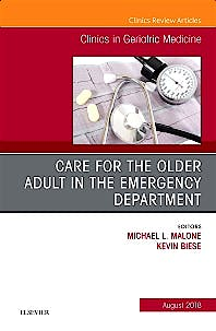 Portada del libro 9780323610865 Care for the Older Adult in the Emergency Department (An Issue of Clinics in Geriatric Medicine, Vol. 34-3)