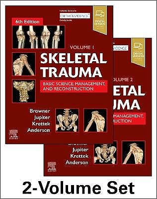 Portada del libro 9780323611145 Skeletal Trauma. Basic Science, Management, and Reconstruction (2 Volume Set)