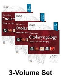 Portada del libro 9780323611794 Cummings Otolaryngology, Head and Neck Surgery, 3 Vols.